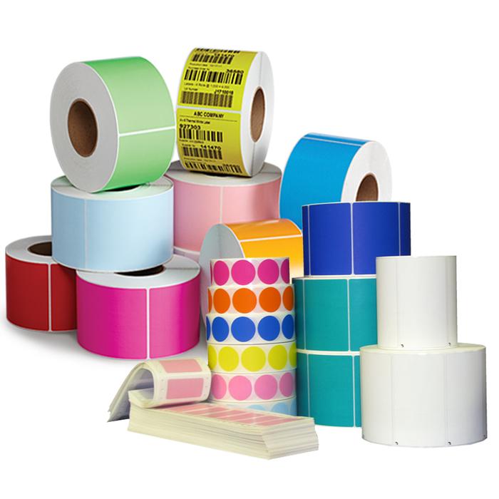 Etiquetas t rmicas en rollo etiquetas adhesivas for Papel de empapelar precios