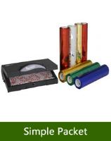 Papel de regalo y simple packet