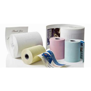 Rollos de papel térmico impreso