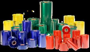Bobinas de ribbon de colores